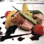 イタリアンキッチン いしかわ - ディナータイム・3780円コース 肉料理