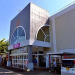 にぼしまじん - 『村上プラザ(イオン村上東店)』西側の入り口(2016年9月)