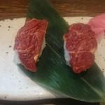 55663285 - 馬肉寿司380円