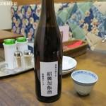 台湾料理 光春 - 甕出し紹興加飯酒7年ボトル2,950円、飲みきれなければキープも持ち帰りもできる