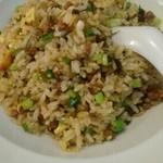 55664724 - 肉味噌と高菜の炒飯