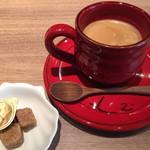 tre Bottiglie - ランチセットのドリンクは、食後にホットコーヒーを頂きました。