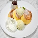 55664962 - '16.08幸せのパンケーキ+アイス+ホイップ