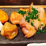 簓 - 肉料理膳(総州古白鶏のもも肉天然塩焼き)