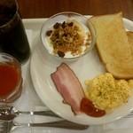 ベックスコーヒーショップ - 朝のバランスプレート:490円