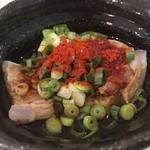 麺屋 食べてイケ麺 - 豚なんこつ¥300