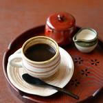 甘味cafeこすず - ドリンク写真:こだわりのブレンドコーヒー