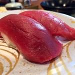 地魚回転寿司 丸藤 - こちらも押しの本マグロ赤身!