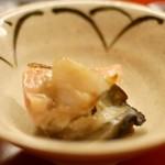 鮨こじま - 牡蠣炙り