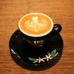 小川珈琲 - 料理写真:カプチーノ!!清水焼のカップです。