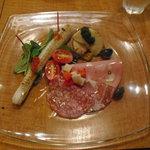 レストラン プルミエ - 前菜(3800円コース料理)
