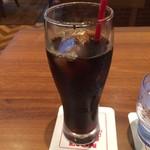 Ginzaraion - アイスコーヒー。             税抜450円。             美味し。