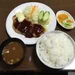 とんかつオゼキ - 料理写真:とんかつ定食(焼きとんかつ)1,700円