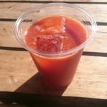 つくで手作り村 - ドリンク写真:元気の出る!トマトジュース