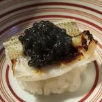 55674118 - (2016/7)キスの飯蒸し ベルーガキャビアのせ