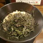 マスターピース - つけ麺 のり増量にて