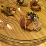 魚タリアン YO - シェフのお薦め前菜盛り合わせ4種
