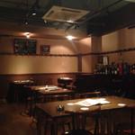 BAR 水田屋 - テーブル席