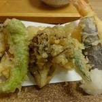 55681083 - 9月3日海老と野菜天盛り合わせ