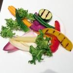 55682551 - 生野菜、焼き野菜、蒸し野菜の菜園風バーニャカウダ¥1680