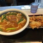 つる一製麺 - とり天カレーうどん(大)3辛