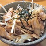 そばじん - ミニチャーシュー丼 ヽ(゚◇゚ )ノ