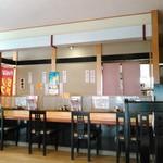 とんかつ 喜太条 - 店内は座敷、カウンター、テーブルと広く対応