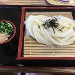 咲き乃屋 - 料理写真:ざるうどん(*´д`*)350円