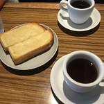 YUSHI CAFE - はちみつトーストとコーヒー
