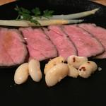金沢町屋 はっち - ローストビーフ