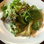 Bistro Tarto - 生パスタランチに含まれるサラダ