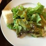 Bistro Tarto - 生パスタランチに含まれるサラダ + パン