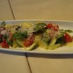 55687115 - 水ナスとトマトのサラダ