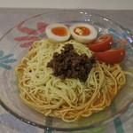 小籠包カフェ.cuore - Cセットの冷やし担々麺@1,000