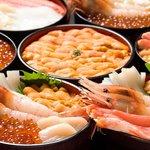 あけぼの食堂 - 料理写真:自慢の海鮮丼いろいろ