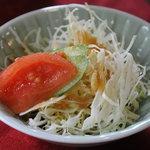 民家レストラン伊萬里亭 - サラダ