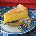 民家レストラン伊萬里亭 - オレンジケーキ