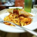 ミア・アンジェラ - 渡り蟹のトマトソースパスタ
