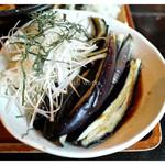 さかさい - 「茄子」… 焼き加減が絶妙でした(2013.09)