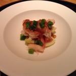 日本料理 菱沼 - イチジクとズワイ蟹
