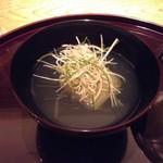 日本料理 菱沼 - 冬瓜のお椀