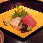 日本料理 菱沼 - 本鮪大トロとクエ