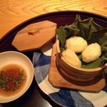 日本料理 菱沼 - 海老しんじょう