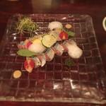 セルジオ ストロベリー - 秋刀魚のカルパッチョ