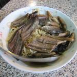 阿江炒鱔魚 - 乾炒鱔魚意麵(120元)