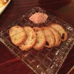 セルジオ ストロベリー - 濃厚、鶏レバーのムース