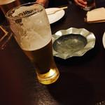 琴似バル - ビールはグラス