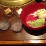 55694897 - ケーキ ゼリー アイス