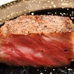 55696181 - 神戸牛サーロインの炉窯焼きステーキ