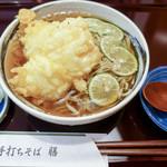 手打ちそば 膳 - 北海道の新蕎麦粉